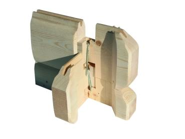 woodfeeling blockbohlenhaus nordland 40mm. Black Bedroom Furniture Sets. Home Design Ideas