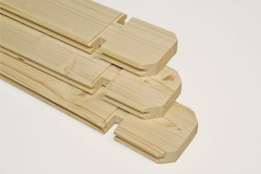tun sie sich etwas gutes mit holz kunststoff dachrinne braun. Black Bedroom Furniture Sets. Home Design Ideas