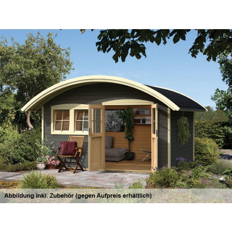 karibu premium gartenhaus friedland 2. Black Bedroom Furniture Sets. Home Design Ideas