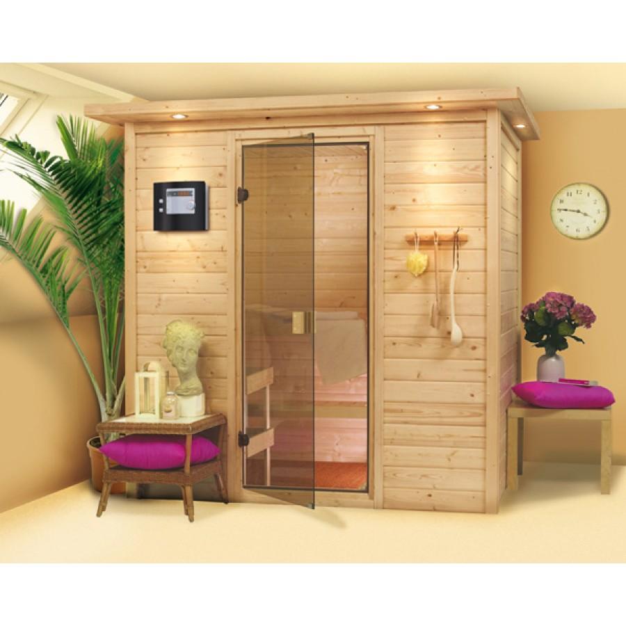 karibu sauna ronja 38 mm. Black Bedroom Furniture Sets. Home Design Ideas