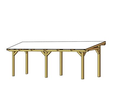 tun sie sich etwas gutes mit holz terrassen berdachung siena freistehend. Black Bedroom Furniture Sets. Home Design Ideas