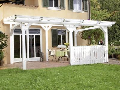 tun sie sich etwas gutes mit holz terrassen berdachung sienna freistehend. Black Bedroom Furniture Sets. Home Design Ideas
