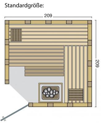 tun sie sich etwas gutes mit holz sauna urban set angebot inkl saunaofen mit. Black Bedroom Furniture Sets. Home Design Ideas