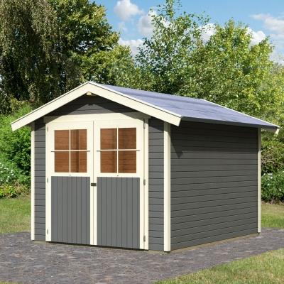 tun sie sich etwas gutes mit holz karibu gartenhaus heidenau 3. Black Bedroom Furniture Sets. Home Design Ideas
