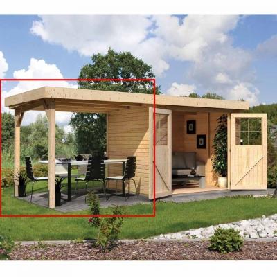 karibu gartenhaus muhlendorf 4 mit schleppdach fabulous gallery of nachhaltige aus bambus und. Black Bedroom Furniture Sets. Home Design Ideas