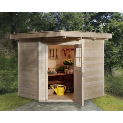 tun sie sich etwas gutes mit holz weka gartenhaus 5 eck 229 gr 2 in 21 mm. Black Bedroom Furniture Sets. Home Design Ideas