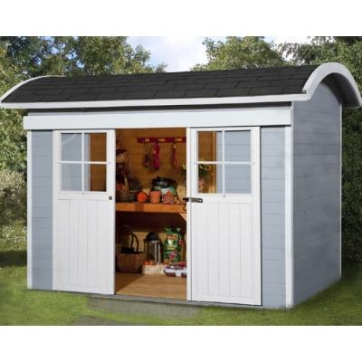 tun sie sich etwas gutes mit holz weka gartenhaus mit schiebet r 228 in 21 mm. Black Bedroom Furniture Sets. Home Design Ideas