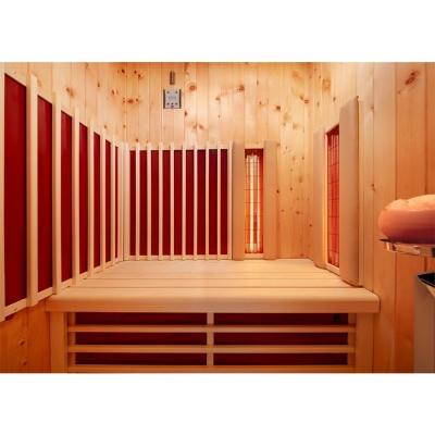 tun sie sich etwas gutes mit holz infraworld infrarotkabine triosol alpina. Black Bedroom Furniture Sets. Home Design Ideas